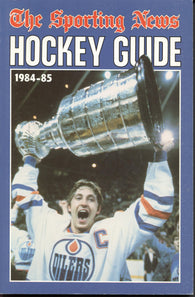 1984-85 NHL Sporting News Hockey Guide Book Wayne Gretzky Edmonton Oilers Steve Yzerman