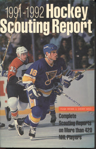 1991-92 NHL Hockey Complete Scouting Reports on Over 420 Players Brett Hull Eric Lindros