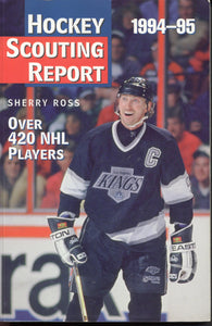 1994-95 NHL Hockey Complete Scouting Reports on Over 420 Players Wayne Gretzky Martin Brodeur