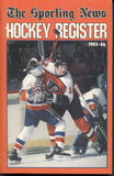1985-86 Sporting News NHL Register Book Tim Kerr Ray Bourque Mike Bossy Bobby Carpenter