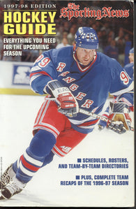 1997-98 NHL Sporting News Hockey Guide Wayne Gretzky NHL Minors Juniors College Stats