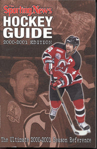 2000-01 NHL Sporting News Hockey Guide Scott Stevens NHL Minors Juniors College Stats