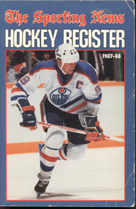 1987-88 Sporting News NHL Register Book Wayne Gretzky Tim Kerr Ron Francis Larry Murphy