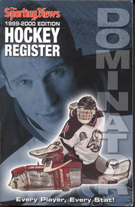 1999-00 Sporting News NHL Register Book Dominik Hasek Al MacInnis Doug Gilmour