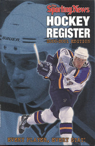 2000-01 Sporting News NHL Register Book Chris Pronger Petr Forsberg Pavel Bure Mario Lemieux
