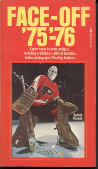 1975-76 NHL Face-Off Book Phil Esposito Bobby Clarke Gordie Howe WHA Bernie Parent Philadelphia Flyers