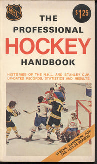 1973-74 NHL The Professional Hockey Handbook Records Statistics Results California Seals