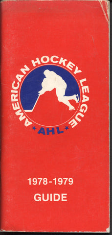 1978 79 American Hockey League Guide Book History Statistics Trophy
