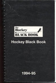1994-95 Hockey Black Book NHL AHL IHL ECHL CHL MJHL OHL QMJHL WHL Juniors Colleges