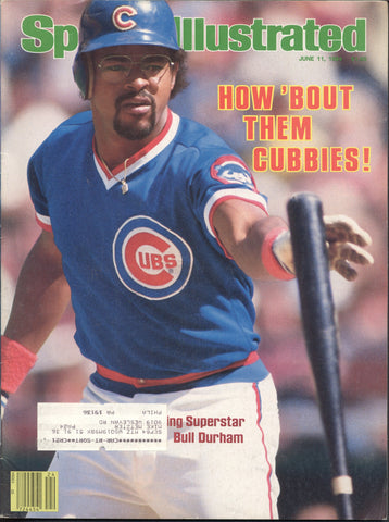 June 11, 1984 Sports Illustrated Magazine NFL NBA MLB Chicago Cubs