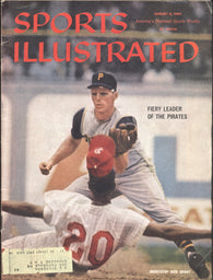 August 8, 1960 Sports Illustrated Magazine MLB Dick Groat Pittsburgh Pirates