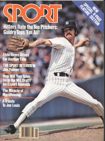 May 1979 Sport Magazine Mike Palmateer Terry Bradshaw Jim Palmer Hitters Rate Top Pitchers