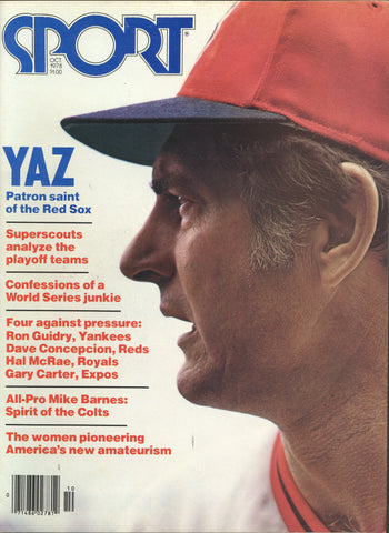 October 1978 Sport Magazine MLB NFL Carl Yastrzemski Gary Carter Ron Guidry