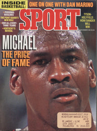 December 1991 Sport Magazine Michael Jordan NBA Pat Riley NFL Mike Tyson NCAA