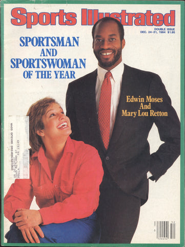 December 24-31, 1984 Double Issue Sports Illustrated Magazine Dr. J Larry Bird Dan Marino NFL