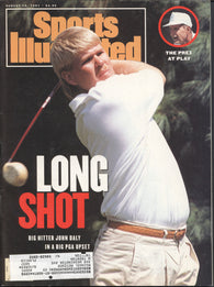 August 19, 1991 Sports Illustrated Magazine John Daly Atlanta Braves The Black Athlete MLB