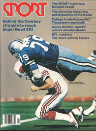 January 1979 Sport Magazine Bucky Dent Dallas Cowboys Howard Cosell College Football NFL MLB