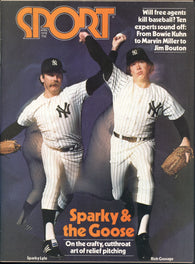 April 1978 Sport Magazine Sparky Lyle Goose Gossage NBA New York Cosmos Harvey Martin
