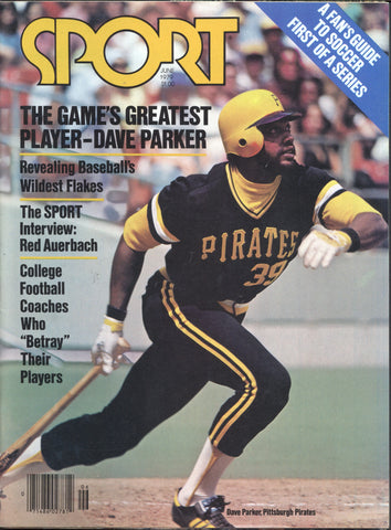 June 1979 Sport Magazine Dave Parker Red Auerbach Vida Blue Larry Hisle Olympics MLB NBA