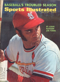 April 10, 1972 Sports Illustrated Magazine Joe Torre NBA Playoffs Baseball 1972 Bruce Kison Bowling Boxing