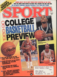 December 1989 Sport Magazine Soviet Players in NHL Sugar Ray Leonard 1989-90 College Hoops Preview