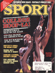 December 1988 Sport Magazine New York Knicks Wayne Gretzky NCAA Hoops Preview Karl Malone
