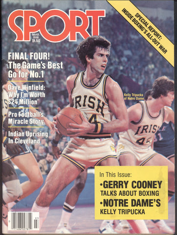 March 1981 Sport Magazine Dave Winfield Final Four Reggie Leach George Gervin NBA NHL MLB