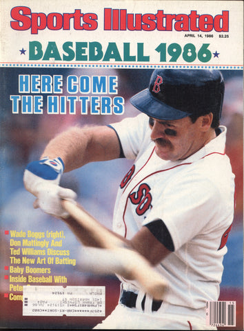 April 14, 1986 Sports Illustrated Magazine Ted Williams Wade Boggs Don Mattingly Team Rankings