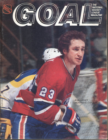January 2, 1980 Montreal Canadiens - 3 @ Pittsburgh Penguins - 5 Larry Robinson Steve Shutt Bob Gainey