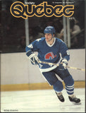 October 25, 1983 Philadelphia Flyers - 4 @ Quebec Nordiques - 2 Program Bobby Clarke Peter Stastny