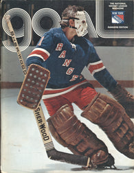 December 27, 1974 Buffalo Sabres - 5 @ New York Rangers - 9 Brad Park Gilbert Perreault Rod Gilbert