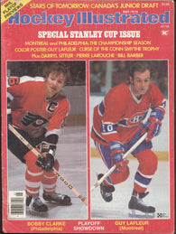 May 1976 Hockey Illustrated NHL Magazine Bobby Clarke Guy Lafleur WHA Bill Barber Darryl Sittler