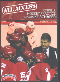 All Access Cornell Hockey Practice with Mike Schafer with Mike Schafer, Cornell University Head Coach; 2003 Frozen Four, 9x NCAA Tournament Appearances, over 300 career wins, 3x ECAC Hockey Coach of the Year