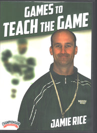 Games to Teach the Game with Jamie Rice, Babson College Head Coach; 2x ECAC East Coach of the Year; 4x ECAC East Tournament Champions
