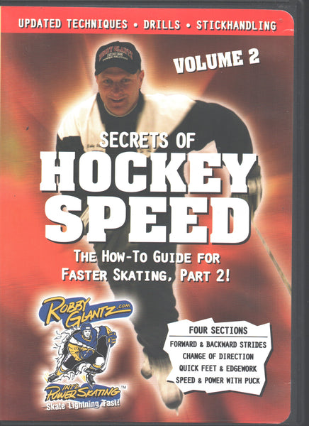 Robby Glantz's Secrets of Hockey Speed Vol. 2
