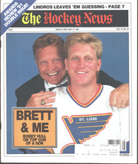 August 31, 1991 The Hockey News Awards Review Double Issue Magazine Brett Hull Eric Lindros