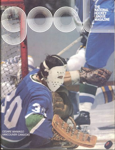 January 4, 1978 Vancouver Canucks - 3 @ Pittsburgh Penguins - 8 Cesare Maniago Rick Kehoe Mike Walton