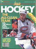 January 1989 The Hockey News Inside Hockey Magazine Larry Robinson Tom Barrasso Cam Neely