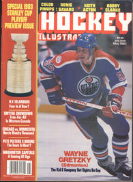 May 1983 Hockey Illustrated NHL Hockey Magazine Wayne Gretzky Bobby Clarke Pete Peeters