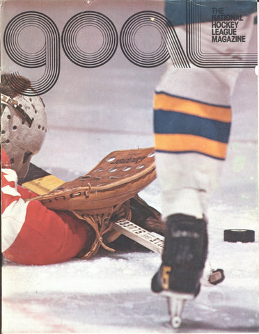 March 30, 1975 Toronto Maple Leafs - 5 @ Buffalo Sabres - 4 GOAL Program Darryl Sittler Gilbert Perreault