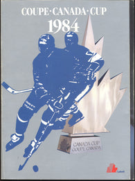 1984 Canada Cup Yearbook Wayne Gretzky Mike Bossy Grant Fuhr Mark Messier Tony Esposito