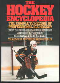 1983 The Encyclopedia of Hockey Book  The Complete Record of Professional Ice Hockey