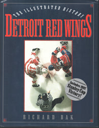 1997 The Illustrated History of the Detroit Red Wings Book Gordie Howe Steve Yzerman Nicklas Lidstrom