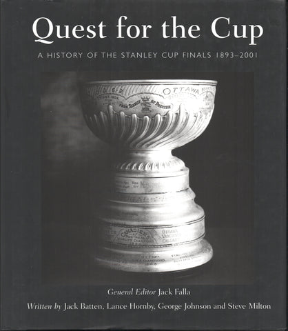 2001 Quest For The Cup Hockey Book A History of the Stanley Cup Finals 1893-2001