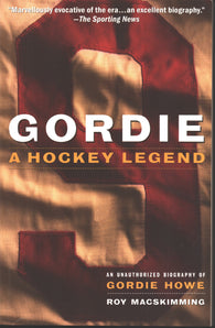 1994 Gordie A Hockey Legend Book Gordie Howe Detroit Red Wings WHA Houston Aeros
