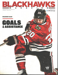 2018-19 Chicago BlackHawks Game Program Jonathan Toews Patrick Kane Duncan Keith