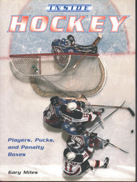 1997 Inside Hockey Book Players, Pucks, and Penalty Boxes Wayne Gretzky Mike Bossy Martin Brodeur