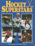 1991 Hockey Superstars Book Bobby Clarke Mike Bossy Brett Hull Wayne Gretzky Bobby Orr