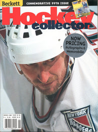 January 1999 Beckett Hockey Monthly Wayne Gretzky New York Rangers Keith Tkachuk