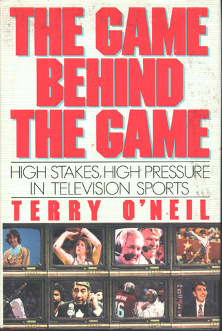 1989 The Game Behind The Game Book Television Sports John Madden Monday Night Football